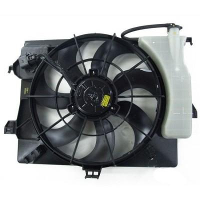Вентилятор радиатора в сборе 2015-2017 Kia Rio