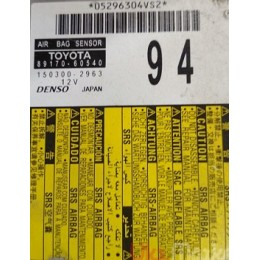 Блок airbag 09-13 89170-60540 Toyota Land Cruiser Prado 150