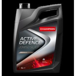 Минеральное моторное масло CH ACTIVE DEFENCE 20W50 SL/CF 4 литра