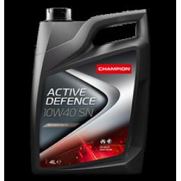 Полусинтетическое моторное масло CH ACTIVE DEFENCE 10W40 SN 4 литра