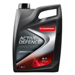 Минеральное моторное масло для грузовых машин и спецтехники CH ACTIVE DEFENCE 20W50 SHPD 5 литров